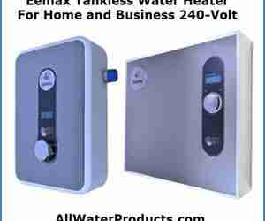 Eemax Tankless Water Heater For Home and Business 240-Volt. AllWaterProducts.com
